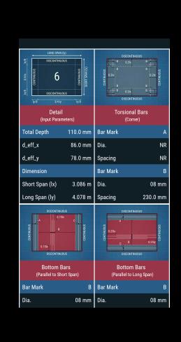 slab design civil engineering android apps